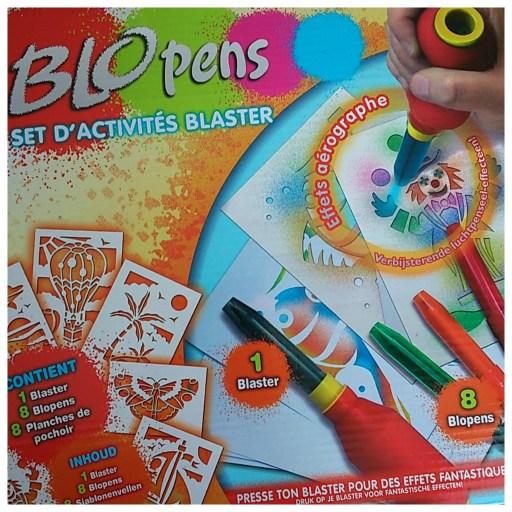 Blopens set d'activités blaster