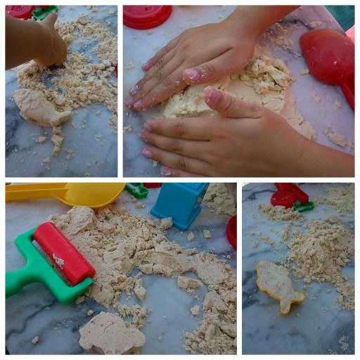 recette du sable magique maison diy