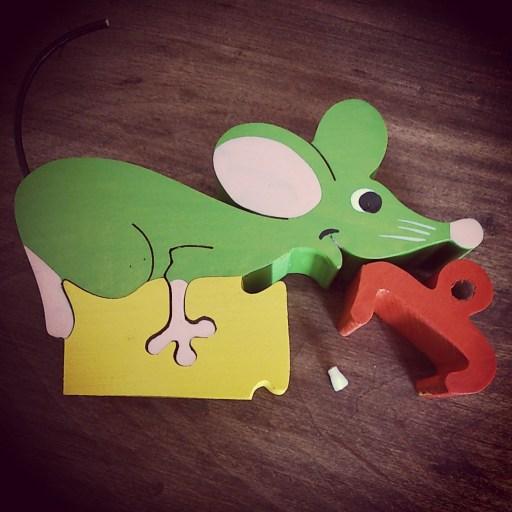 mots d'enfants petite souris
