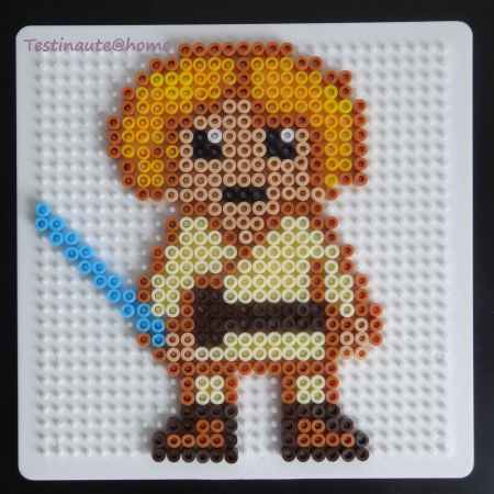Luke Skywalker star wars perles Hama