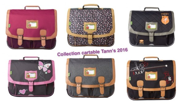 cartable tann's collection 2016