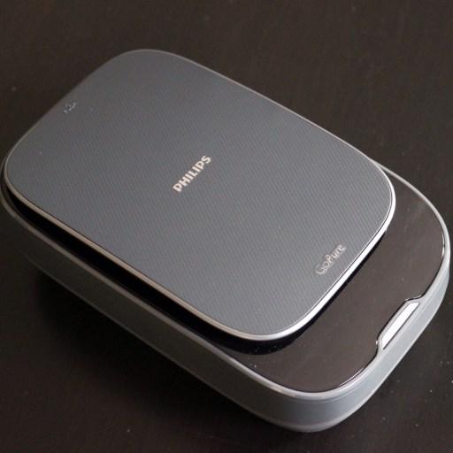le boitier du purificateur d'air GoPure SlimLine 230 de Philips