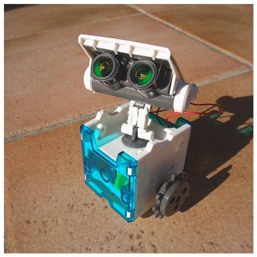 le cousin de Wall-E version robot solaire