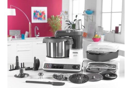 Le robot cuiseur Kcook Multi et ses accessoires