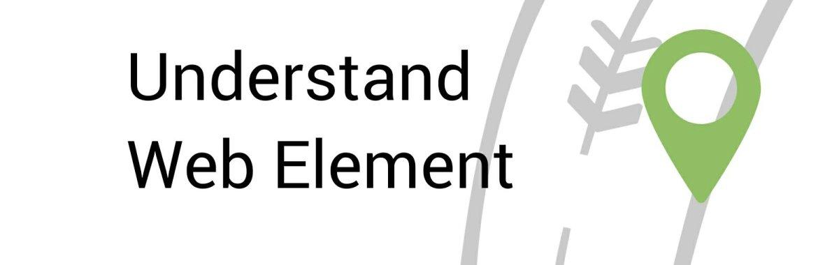Understand Web Element