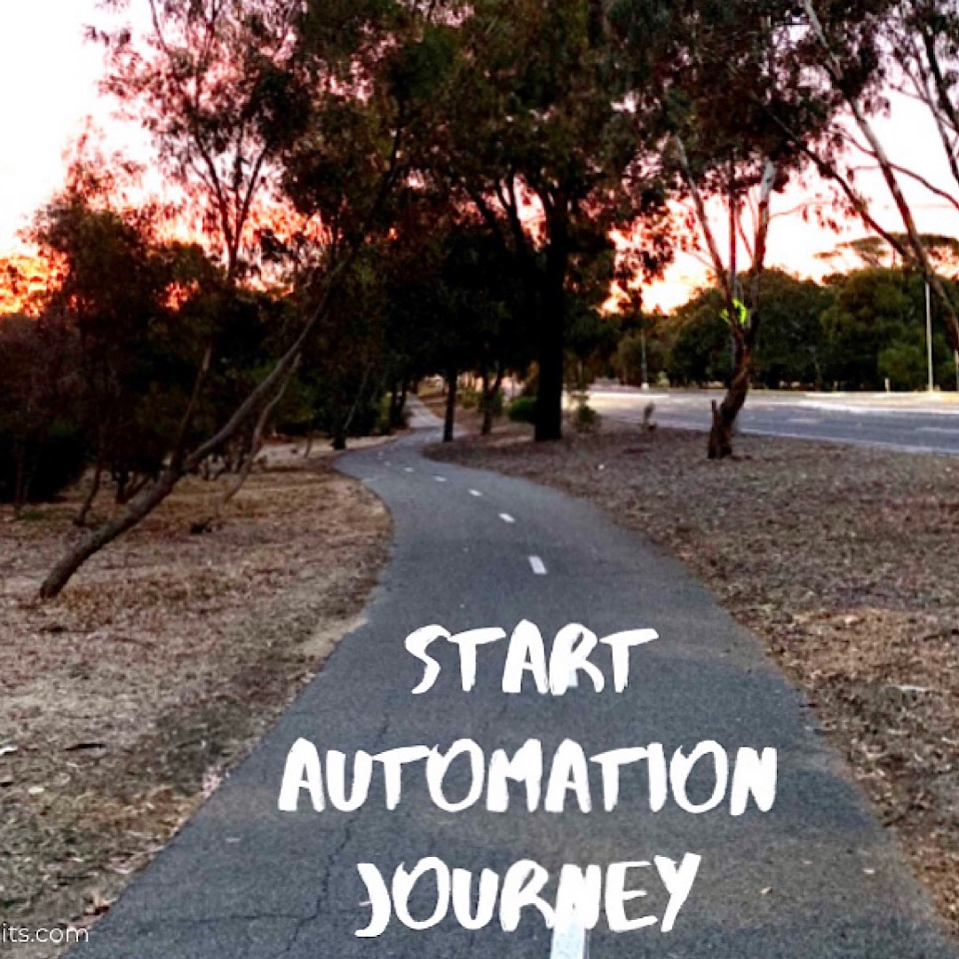 Begin your Automation journey.