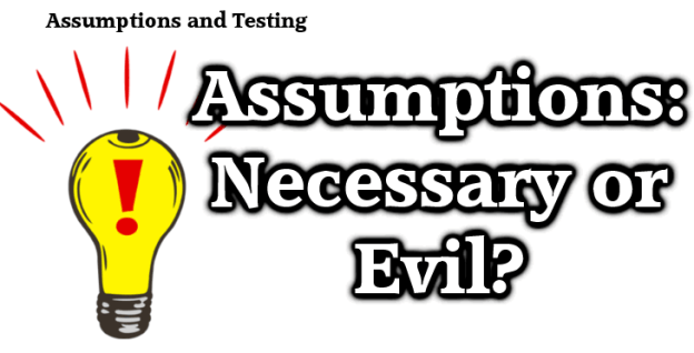 Assumptions-in-testing
