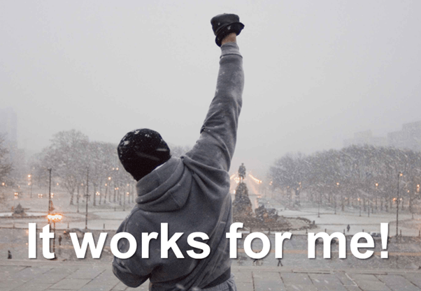 It-works-for-me