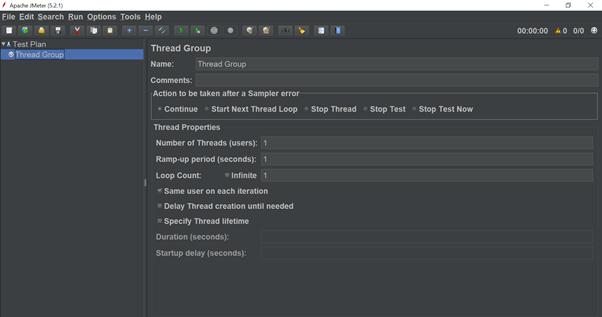 Record script in JMeter