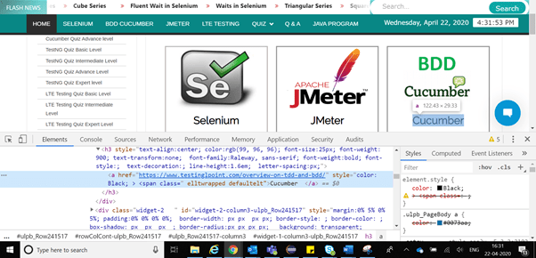 XPath in Selenium