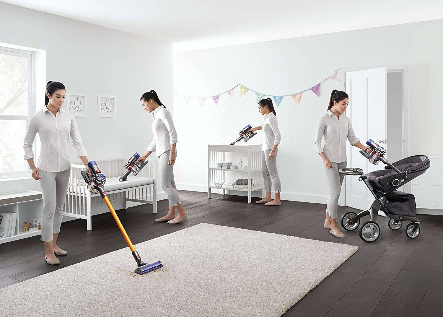 Dyson new V8 Absolute 227296-01 - 4 accesorios
