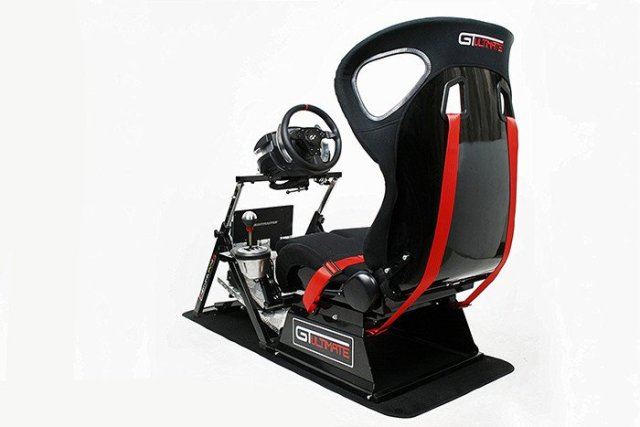 NEXT LEVEL RACING GTUltimate V2 - Racing Simulation Cockpit - PC - Consoles