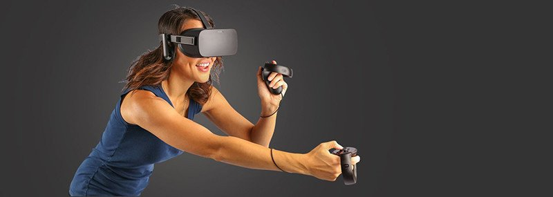 Pack Oculus Rift + Touch + 2 sensors - Test