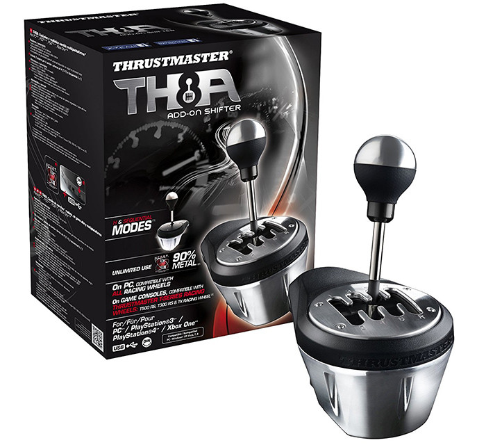 Thrustmaster - TH8A Realistic Gearbox Compatible con PC PS3 PS4 y Xbox One