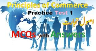 commerce mcqs with Answers