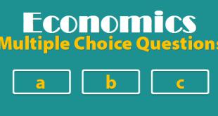 Economics multiple-choice-questions