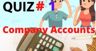 Company Accounts Mcqs