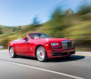 Rolls-Royce Dawn Driving