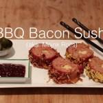 Você vai querer comer este sushi de bacon