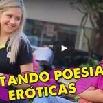 Recitando poesias eróticas [vídeo]