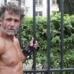 O morador de rua francês que é fisiculturista