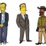 """Personagens, celebridades e atletas em versão """"The Simpsons"""""""