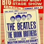 A evolução dos cartazes de shows de rock dos anos 60, 70, 80 e 90