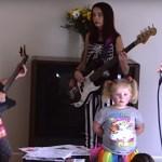 Essas crianças tocando Slipknot são muito mais legais que o carnaval