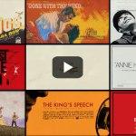 Todos os filmes vencedores do Oscar e a evolução dos cartazes de divulgação [vídeo]