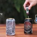Vídeo ensina o método mais eficaz pra gelar cerveja mais rápido