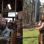 O Mestre das Espadas: Michael Craughwell é capaz de forjar incríveis espadas gigantes