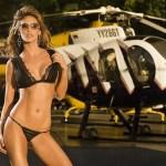 13 mulheres gostosas que fizeram ensaios sensuais em helicópteros