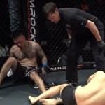 Evento de MMA acaba com nocaute duplo e lutador vencedor fica com nariz deformado