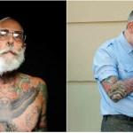 Como fica uma pessoa com tatuagens quando ela envelhece