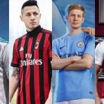 Quais as camisas de futebol mais bonitas dos gigantes europeus?