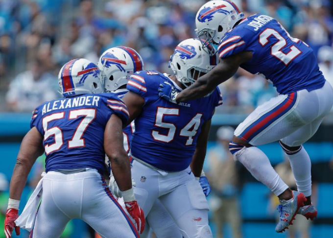 Buffalo Bills comemora