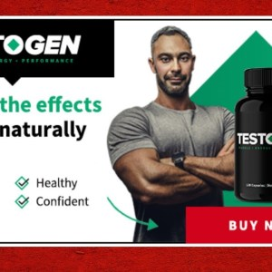TestoGen NEW Formula [2021] 💪💪 🏋️| Testosterone Booster Supplements |