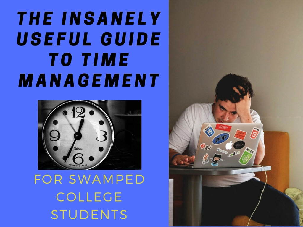 The Insanely Useful Guide to Time Management: For Swamped College Students