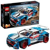 Lego 42077 - das einfach schnelle Rallyeauto mit B-Modell von Lego Technic