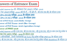 CG TET Answer Key 2016