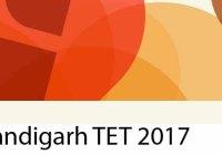 Chandigarh TET 2017