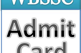 West Bengal SSC Admit Card 2017