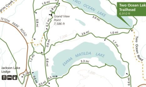 Image result for grandview point trail map