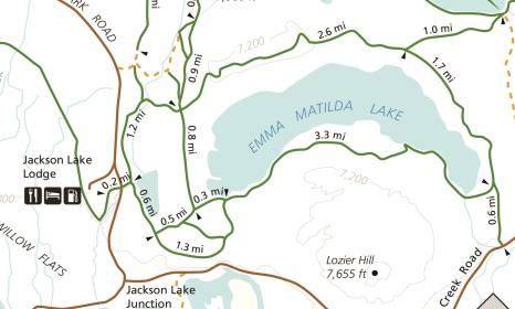 Image result for emma matilda lake trail map