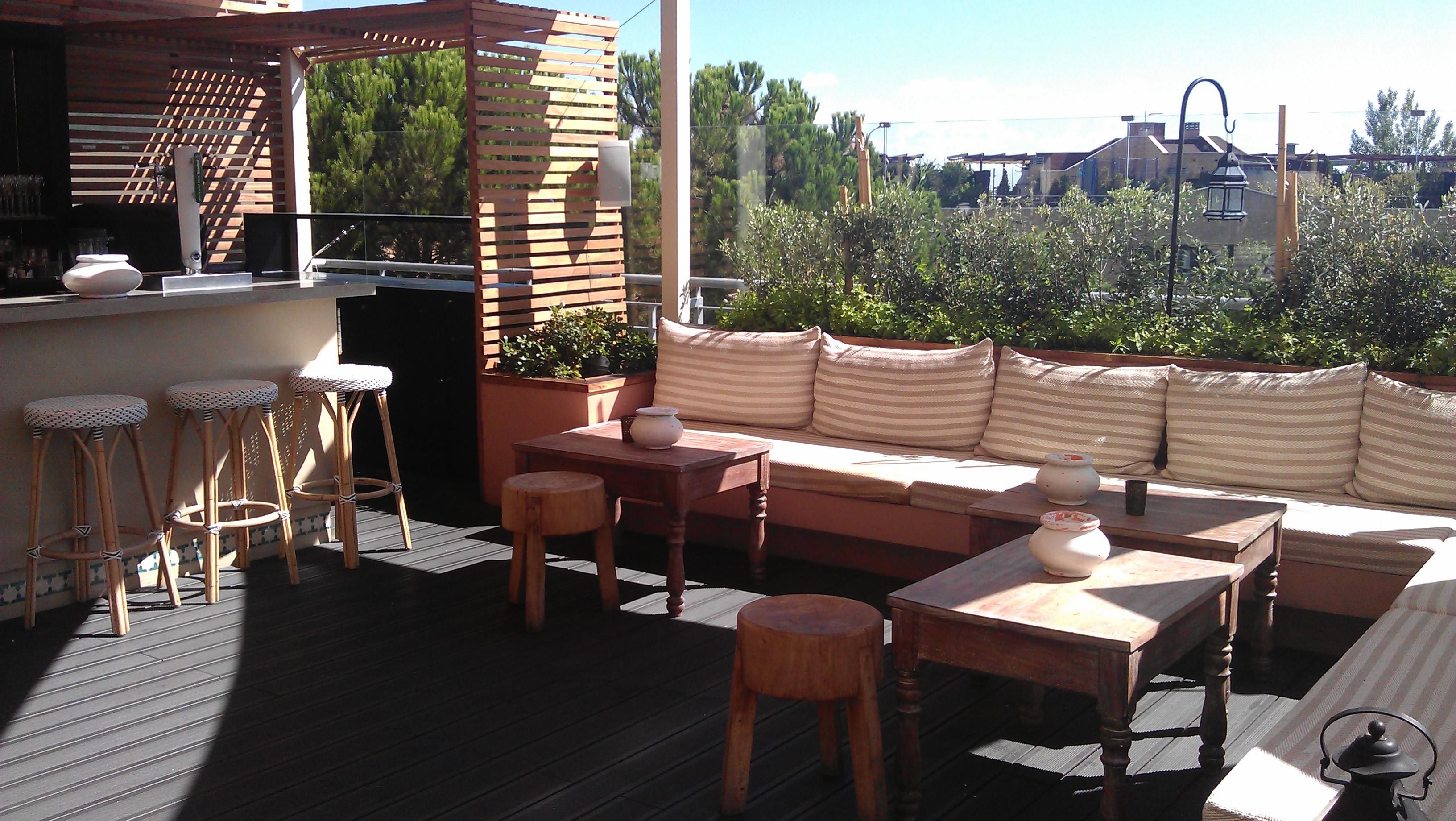 El restaurante con terraza favorito de algunos amigos for Terrazas de verano madrid