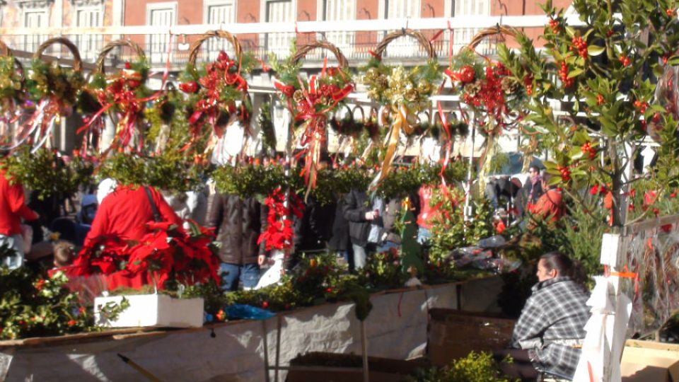 mercadillo-navidad-plaza-mayor-madrid-Navidad