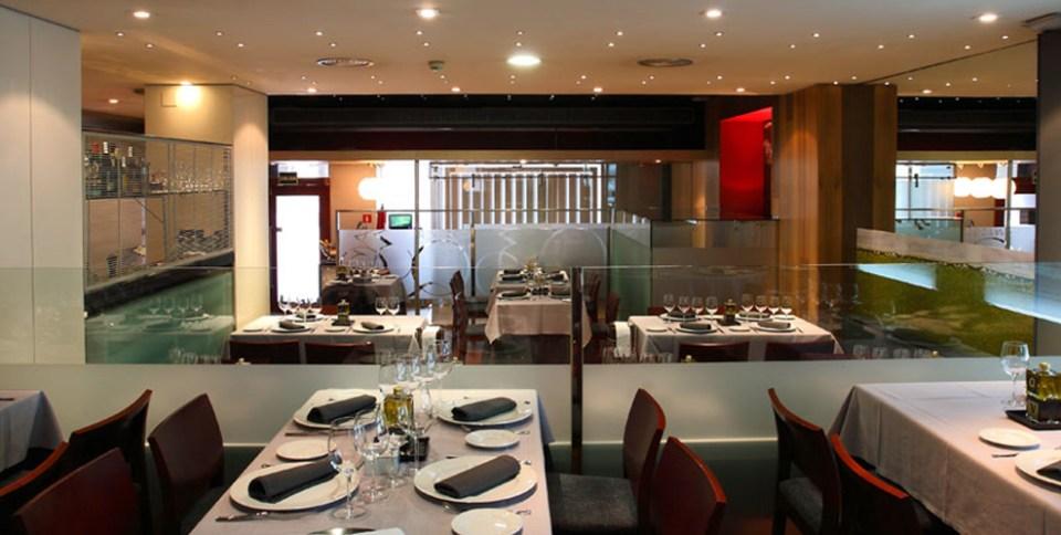 Restaurante Quintana 30 panorámica del comedor