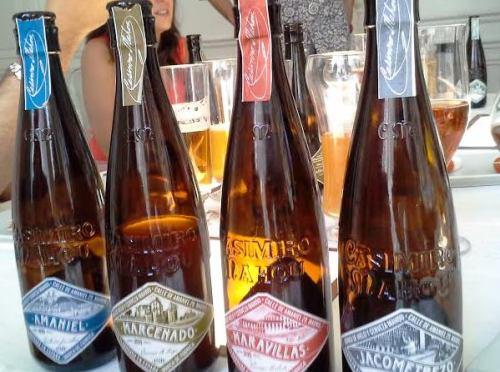 Cervezas Mahou cata 2014