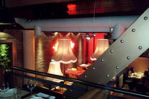 Restaurante Taxi a Manhattan detalles Te Veo en Madrid