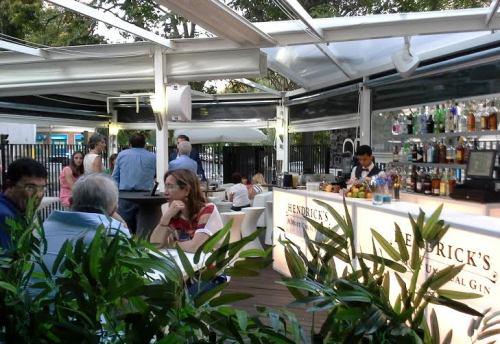 Restaurnte 90 grados terraza  de copasTe Veo en Madrid